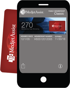 Medjet Digital Wallet Passbook